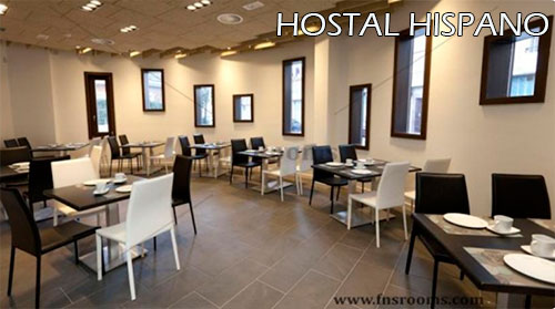 Hostal-Hispano-dinning-room